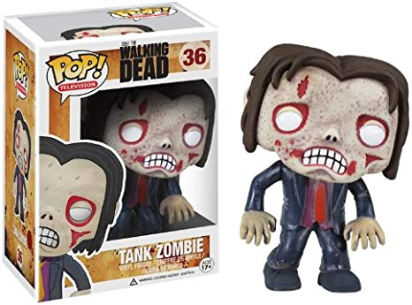 Funko - The Walking Dead, Tank Zombie Figura de Vinilo, 10 cm (FUNVPOP3084): Amazon.es: Juguetes y juegos