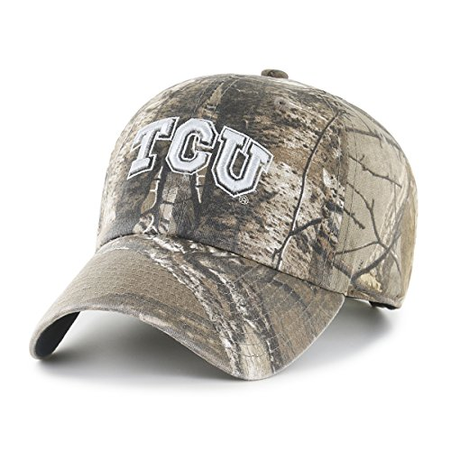 (NCAA Tcu Horned Frogs Realtree OTS Challenger Adjustable Hat, Realtree Camo, One Size)