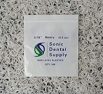 Amazon Com Sonic Dental Clear 5 16 4 5 Oz Orthodontic