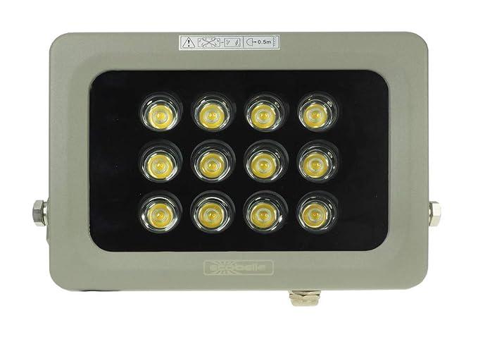 Ecobelle® 1 x Foco Proyector LED 20W 1600 Lúmenes (Igual a 100W ...
