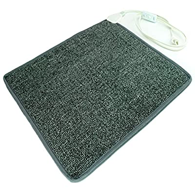 Cozy Products CT Toes Carpeted Foot Warming Heater for Under Desks and More