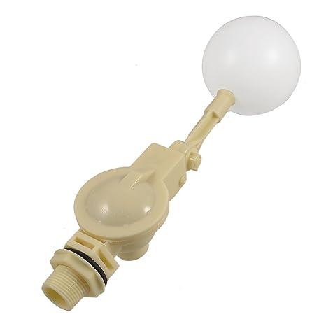 SODIAL(R) Valvula flotante de plastico flotador del sensor de agua de rosca PT3