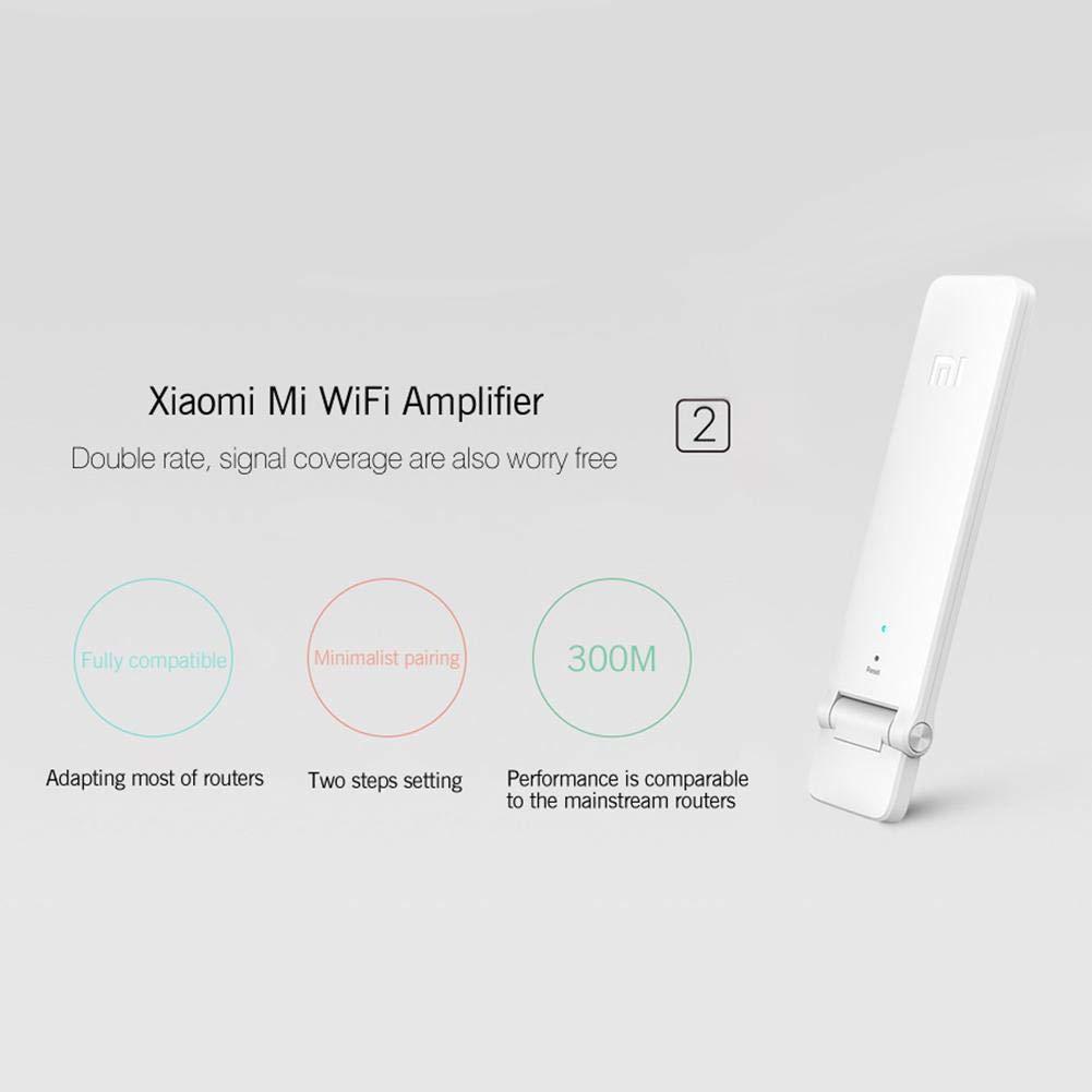 JUNERAIN Xiaomi Mi Smart Home WiFi Repeater 2 300M Amplificador Amplificador de Señal Amplificador: Amazon.es: Hogar