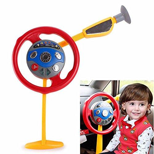 Electronic Backseat Driver (Kids Steering Wheel For Car)
