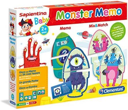 Clementoni - Memo Monstruo Multicolor: Amazon.es: Juguetes y juegos