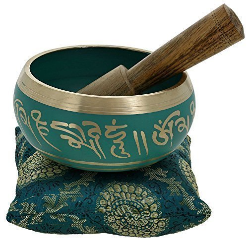 4-Inches-Hand-Painted-Metal-Tibetan-Buddhist-Singing-Bowl-Musical-Instrument-for-Meditation-with-Stick-and-Cushion
