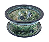 Polish Pottery Teresa Berry Bowl & Plate