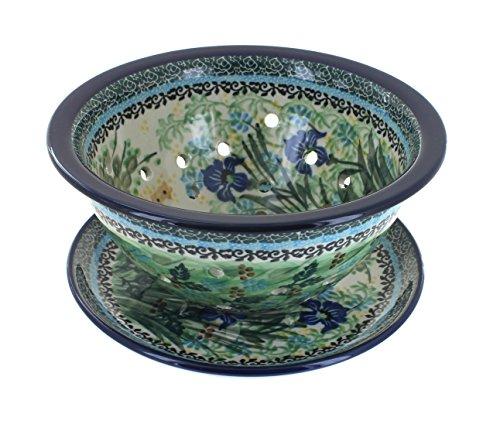 Polish Pottery Teresa Berry Bowl & Plate by Ceramika Artystyczna