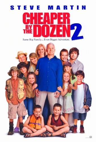 Cheaper By the Dozen 2 Poster 27x40 Steve Martin Bonnie Hunt Piper Perabo (Bonnie Hunt Cheaper By The Dozen 2)