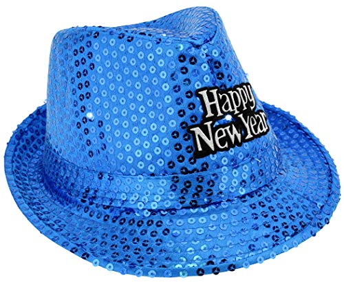 EDS Costumes New Years Eve Party Hat Light Up Fedora hats Party -