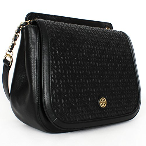 Tory Burch Bryant Quilted Leather Shoulder Bag Black Buy