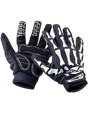 Basecamp Skeleton Gloves Full Finger Cycling Gloves Women/Men Halloween Party