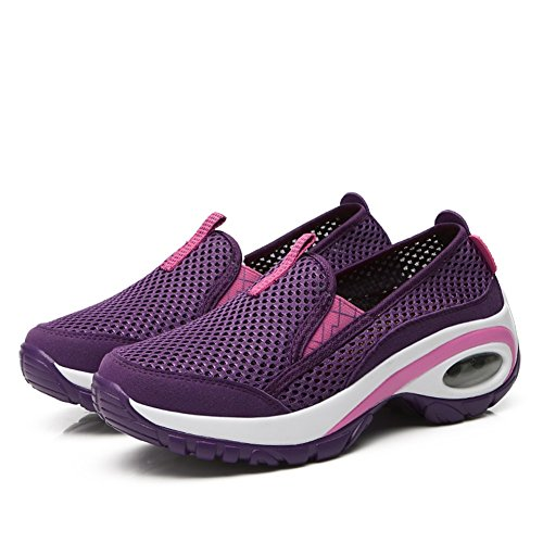 Shoes B Cushion Thick Spring Shoes Casual Increase Summer Air New Shoes Trekking Shoes Tulle Women's Bottom Height nfwaqZCgZ