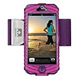 imperial armband iphone 5 - Nathan SonicBoom 5 Armband, Fluoro Fuchsia/Imperial Purple