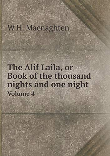 Price comparison product image The Alif Laila,  or Book of the thousand nights and one night Volume 4 (Arabic Edition)