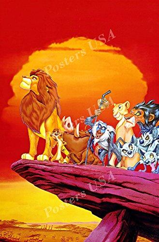 Posters USA Disney Classics The Lion King Poster - DISN083 )