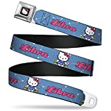 Best Buckle Down Little Girl Movies - Buckle-Down Seatbelt Belt - Hello Kitty Zodiac Libra Review