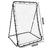 Pagacat Baseball Hitting Net Softball Pitching Net Multi-Sport Rebounder Back Training Screen[US Stock]