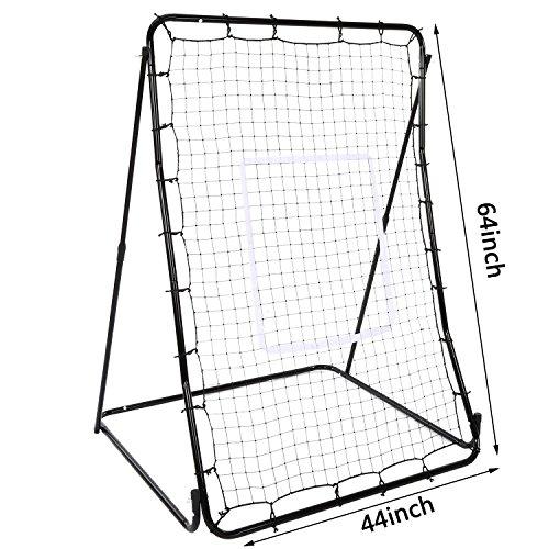 Pagacat Baseball Hitting Net Softball Pitching Net Multi-Sport Rebounder Back Training Screen[US Stock] by Pagacat