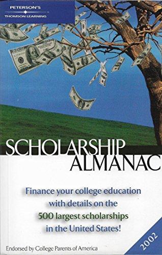 Scholarship Almanac 2002