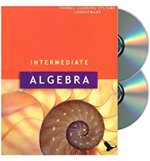 Developmental mathematics textbook author 9781932628838 amazon hawkes learning systems courseware intermediate algebra fandeluxe Image collections