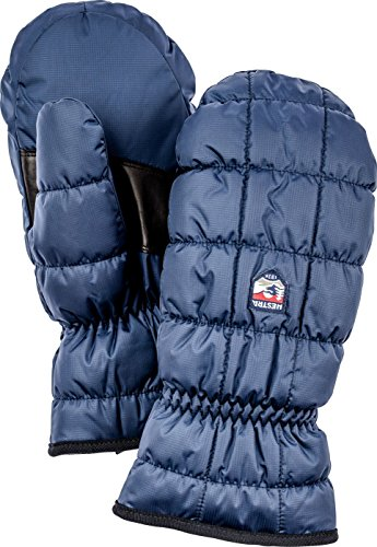- Hestra Extreme Cold Weather Winter Mittens: Hestra Moon Primaloft Insulated Gloves, Navy, 8