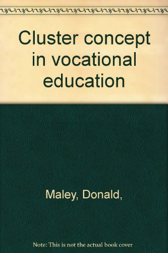 Cluster Concept in Vocational Education