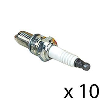 Paquete de 10 bujías de repuesto para NGK CMR5H 7599 CMR6H Bosch USR7AC Oregon 77-