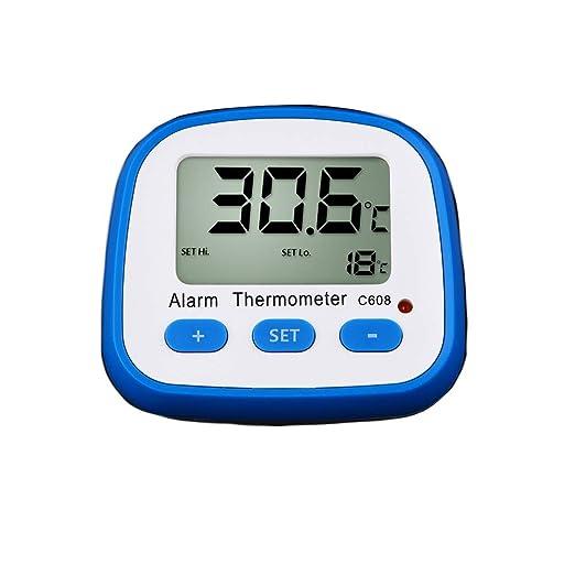 Termómetro digital para interior y exterior, monitor de ...