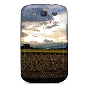 Premium Rice Harvest In Japan Back Covers Snap On Cases For Galaxy S3