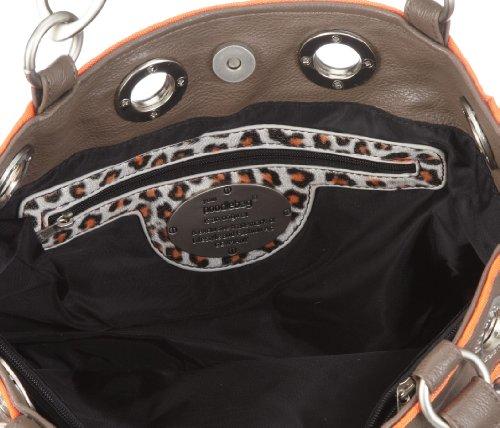 Poodlebags Funkyline  - multicolor - Peppy - orange 330411CO - Bolsa al hombro para mujer Naranja