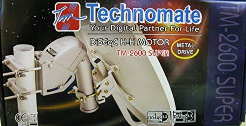 Technomate TM-2600 DiSEqC Motor antena parabólica