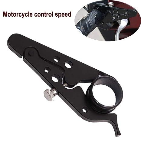Motorcycle Cruise Control >> Amazon Com Baomabao Motorcycle Throttle Lock Black Cnc