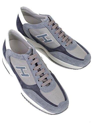 Hogan Sneakers Uomo HXM00N0Q102FJ8291L Camoscio Blu