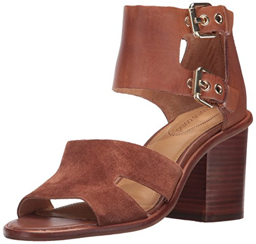 Opportunity Shoes - Corso Como Women's September Heeled Sandal,Cognac Burnish Calf,7 Medium US
