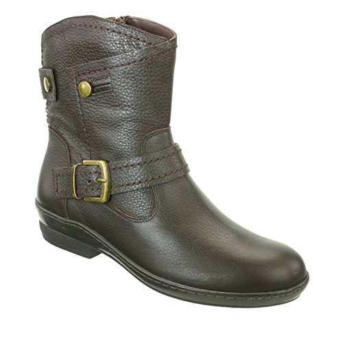 Grain Relax Pebble 5 Boot M B David Tate Calfskin Women's Brown 5 FqwFOn4X