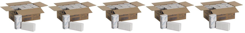 georgia-pacific 21000署名2-plyプレミアムMultifold紙タオル、ホワイト、WXL ) 9.2 CM x 9.4 CM (ケースof 16パック16パックの場合、125タオル1パック) ( 5 ) B079JT92NW