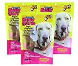 Fido Dental Care Belly Bones For Dogs, Yogurt Flavor – 8 Medium Treats Per Pack, Pack of 3 – Helps to Support Your Dog's Digestive Health Review