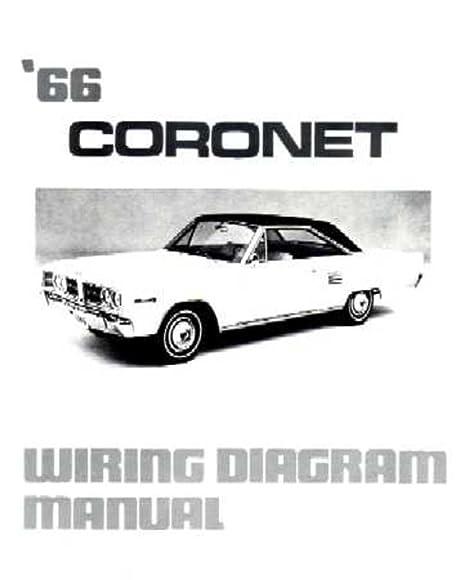 amazon com bishko automotive literature 1966 dodge coronet rh amazon com Dodge Ignition Wiring Diagram 1996 Dodge Ram Wiring Diagram