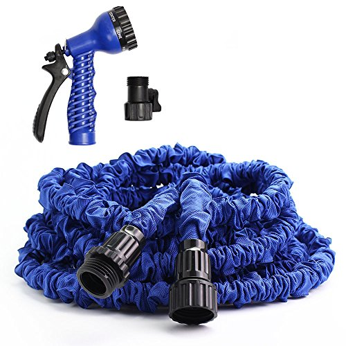 greenmall-100ft-expandable-garden-water-hose-with-7-functions-sprayer-blue-100ft
