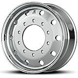 Alcoa 22.5'' x 9'' Dura Bright 10000LB Flat-Face Steer 10 Lug Wheel (893651DB)