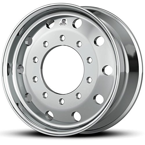 Alcoa 22.5'' x 9'' Dura Bright 10000LB Flat-Face Steer 10 Lug Wheel (893651DB) by Alcoa