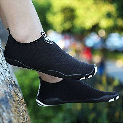 Summer Breathable Soft Outdoor Diving Soled Barefoot Shoes Women Snorkeling Shoes Shoes B and Beach Swim Swimming Shoes Men qtnww8IESx