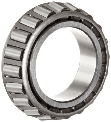 Timken 19150 Tapered Roller Bearing, Single Cone, Standard Tolerance, Straight Bore, Steel, Inch, 1.5000