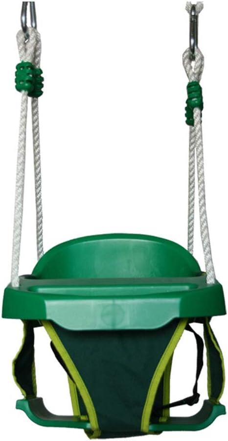 Columpio Al Aire Libre Columpios para niños Al aire libre, en el interior, en casa, para bebés, para bebés Silla de bebé engrosada Patio de juegos Asiento columpio Juguete De Asiento Infantil: