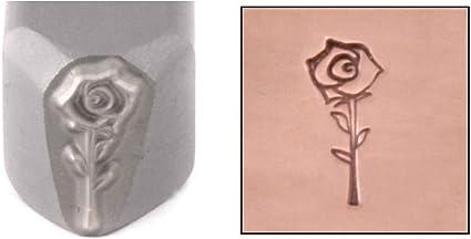 Rose Design Stamp ImpressArt 6mm