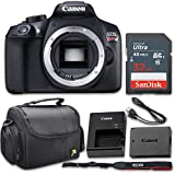 Canon EOS Rebel T6 18MP DSLR Camera Body Only Kit with 32GB Memory and Gadget Bag (Certified Refurbished)