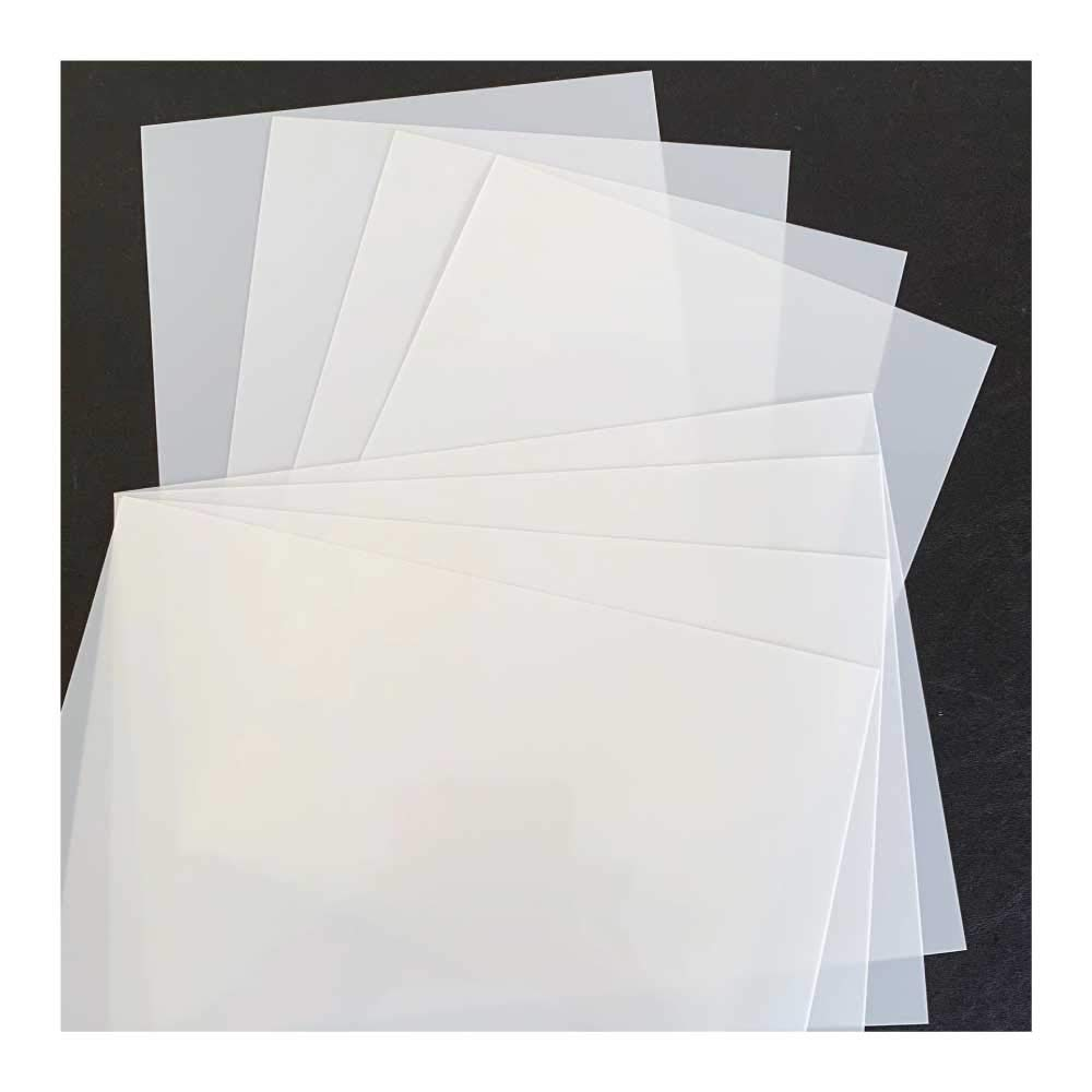 125 micron by cfsupplies A4 Mylar stencil sheets 10 x A4
