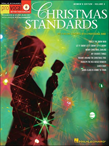 Hal Leonard Christmas Standards for Female Singers Pro Vocal Songbook Volume 5 Book/CD - Comin Home Sheet Music