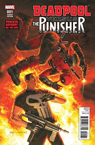 Deadpool Vs The Punisher #1 Greg Hildebrant 1-in-10 Variant Cover Edition Marvel Comics NM